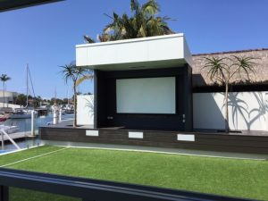 Outdoor Cinema Minyama home automation 2