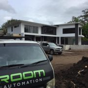Room Automation Noosaville Installation, Security, Intercom, Wifi Data Network, Audio Visual, Lighting Control & Automation