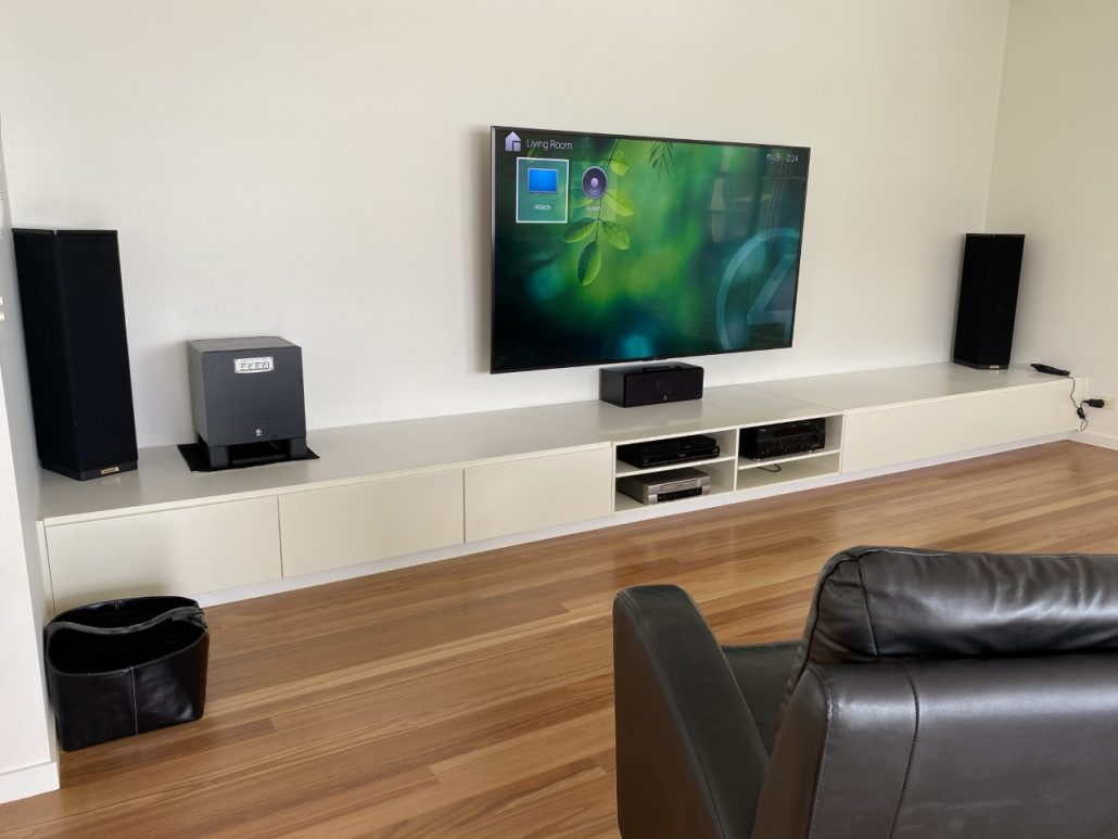 TV and Surround Setup in Twin Waters